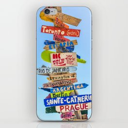 travel #society6 #decor #buyart #homedecor iPhone Skin