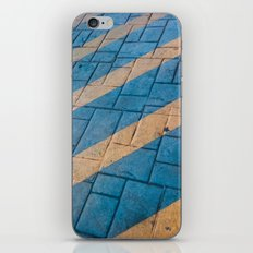 Yellow Lines at the ground iPhone & iPod Skin