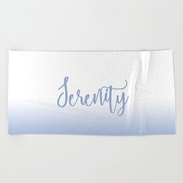 Serenity Mood Beach Towel