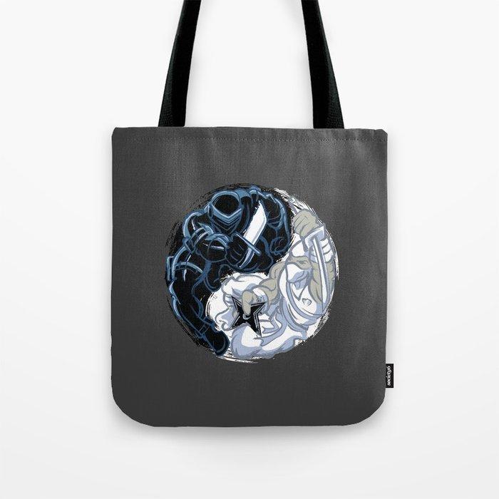 Snake Eyes/Storm Shadow  Tote Bag