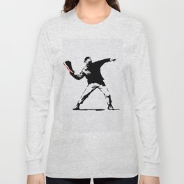Jordan BRED 11 Thrower Long Sleeve T-shirt