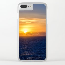 Sunset over the Timor Sea Clear iPhone Case