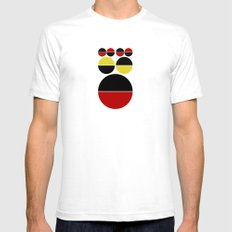 Round Dreams SMALL Mens Fitted Tee White