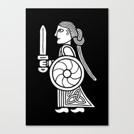 Shieldmaiden I Canvas Print