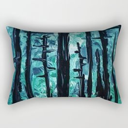 Giants Of The Canopy Rectangular Pillow