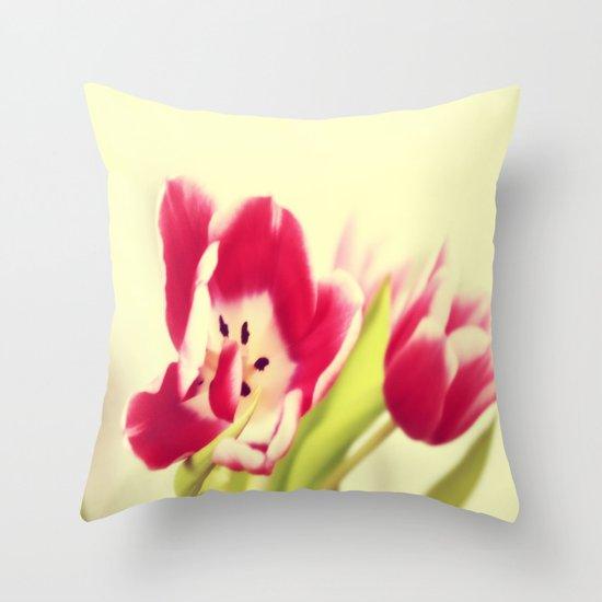Spring - JUSTART © Throw Pillow