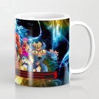 big hero 6 Mugs featuring Big Hero 6 by ezmaya