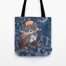 Owl mother Tote Bag