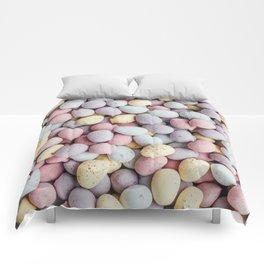 eggs color Comforters