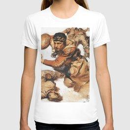 12,000pixel-500dpi -Joseph Christian Leyendecker - Rugby Player, Tackle - Digital Remastered Edition T-shirt