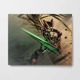 Dark Zero Sword Metal Print