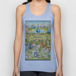 The Garden of Earthly Delights by Bosch Unisex Tank Top