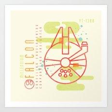 MNML: YT-1300 Art Print