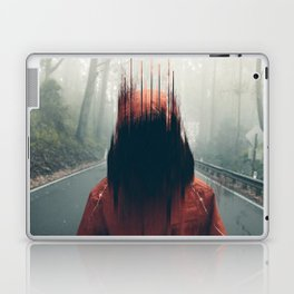 Face into the Abyss Laptop & iPad Skin