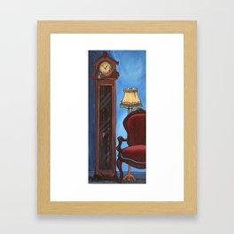 Hickory, Dickory, Dock Framed Art Print