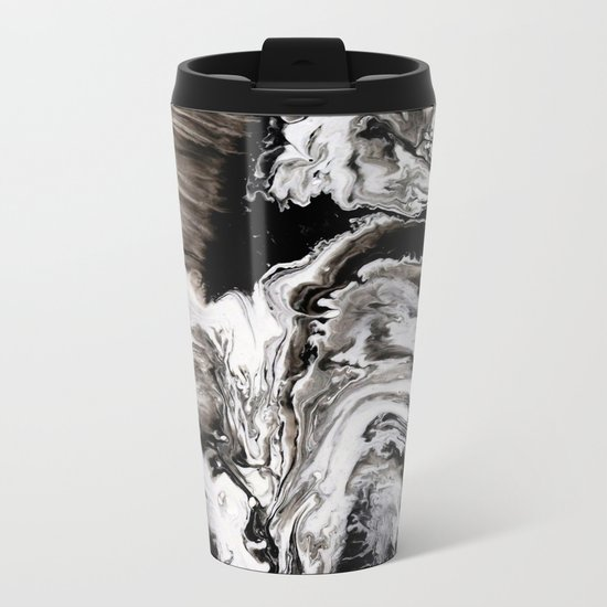 Marble Metal Travel Mug