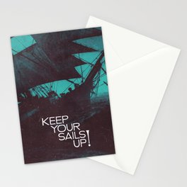 Keep Your Sails Up Stationery Cards