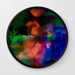 """""""Shapes At Play"""" Wall Clock"""
