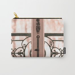 Paris in Blush Pink III Carry-All Pouch