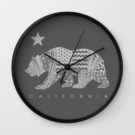 California grey Wall Clock