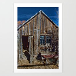 The Old Bunkhouse Art Print