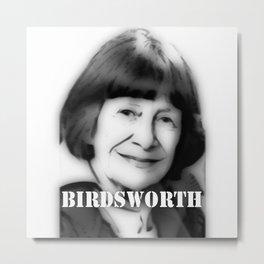 BIRDSWORTH Metal Print