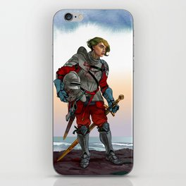 Knight of the Blackrocks iPhone Skin