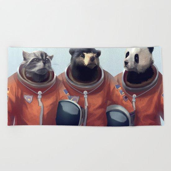 We can be heroes #astronaut Beach Towel