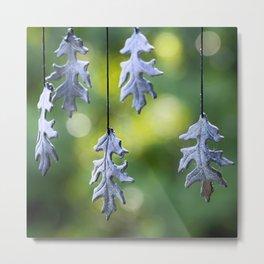 Autumn Wind Chimes Metal Print