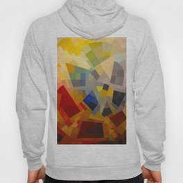 Otto Freundlich Komposition 1939 Mid Century Modern Abstract Colorful Geometric Painting Pattern Art Hoody