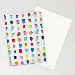 Infinite Polka Daubs 2 Stationery Cards