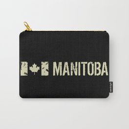 Canadian Flag: Manitoba Carry-All Pouch