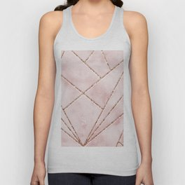 Love and illusion Unisex Tank Top
