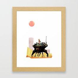 HayBot Framed Art Print
