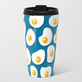 Fried eggs food pattern Travel Mug