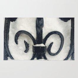 Snowy Iron Rug