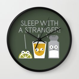 Sublimeinal Message Wall Clock