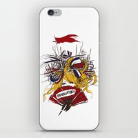 revolution iPhone & iPod Skins featuring Revolution! by The Eggplant Market
