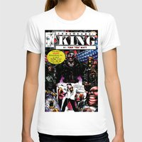 "comic book T-shirts featuring ""Code Name: King""  - Comic Book Promo Poster  by Tex Watt"