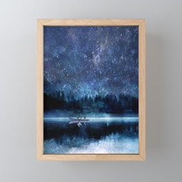 Night Sky Framed Mini Art Print