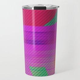 neon bear Travel Mug