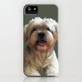 Shih tzu Low Poly iPhone Case