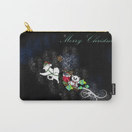 Samoyed Holiday Design Series No. 4 Carry-All Pouch