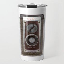 Vintage Duaflex Camera Travel Mug