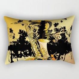 Saxophone Rectangular Pillow