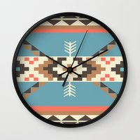 aztec Wall Clocks featuring AZTEC by 6ense