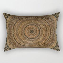 Tribal with brown Rectangular Pillow