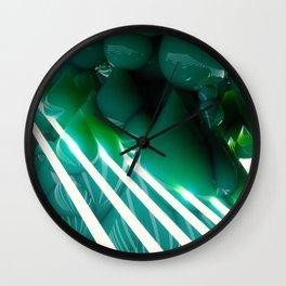GOOEY/OOEY/UMMDROPS Wall Clock