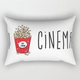 I love cinema Rectangular Pillow