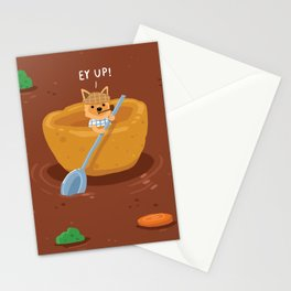 Yorkshire Pudding Stationery Cards